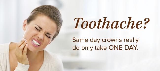 Dentist in Beaverton Same-Day Crowns