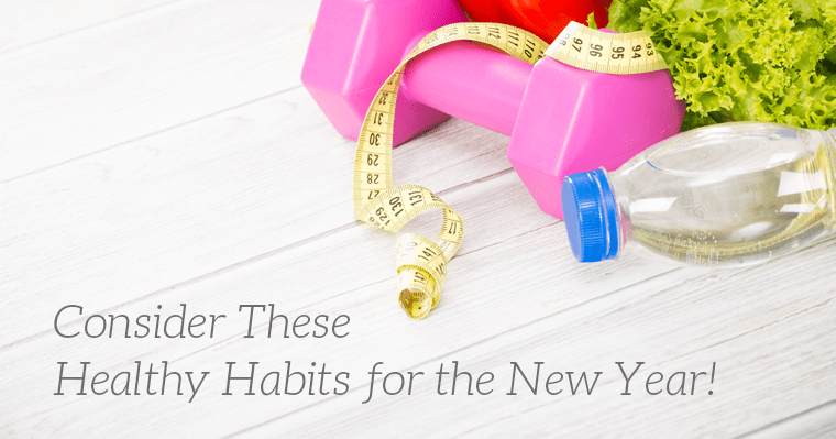 Get started with these 5 healthy habits for the new year.