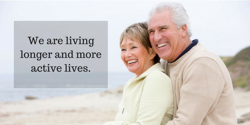 We are living longer. Dental implants by our Beaverton dentist can be the answer for missing teeth.