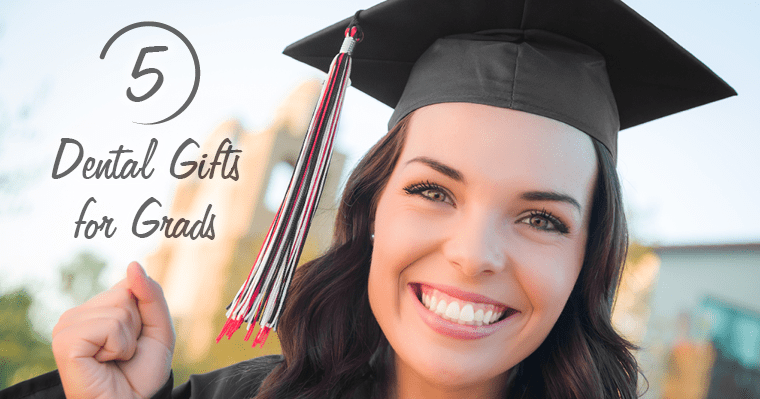Stumped for gift ideas for grads? Here are 5 dental gifts any grad will love.