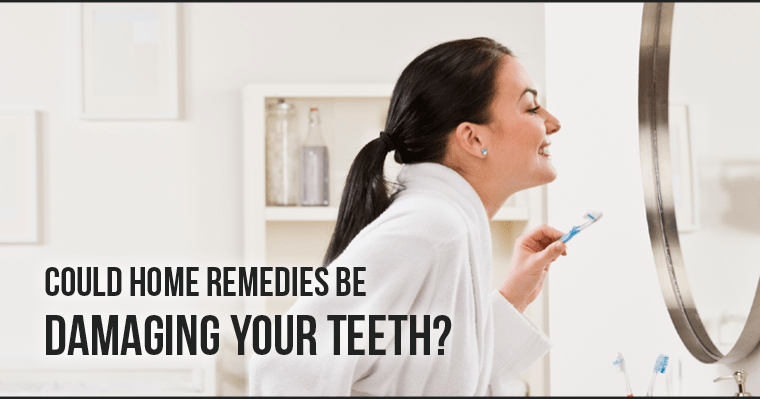 Could home remedies to whiten your teeth be damaging your smile?